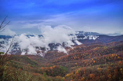 Photograph - Carolina Colors Of Autumn by Gerald Monaco