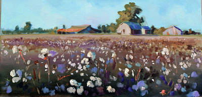 Painting - Carolina Cotton I by Susan Bradbury