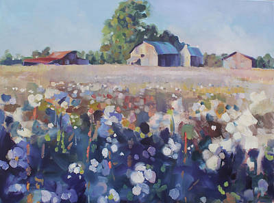 Painting - Carolina Cotton II by Susan Bradbury