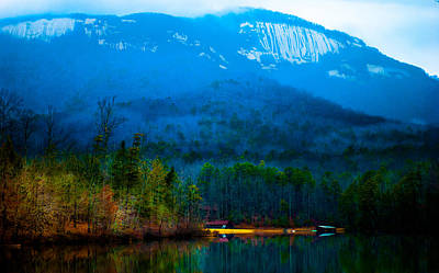 Shed Digital Art - Carolina Fog by Optical Playground By MP Ray