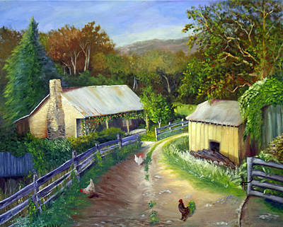 Painting - Carolina Homestead by Catherine Link