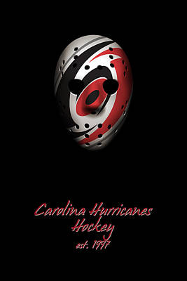 Photograph - Carolina Hurricanes Established by Joe Hamilton