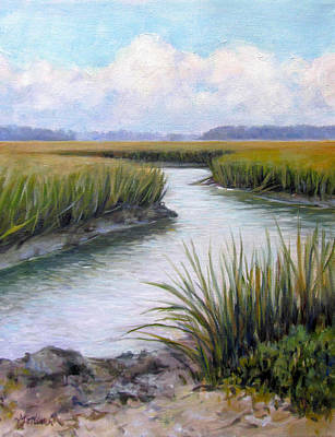Painting - Carolina Marsh by Michel McNinch