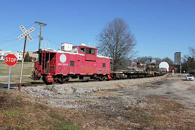 Photograph - Carolina Piedmont Ge Turbine H W Train 3 by Joseph C Hinson Photography