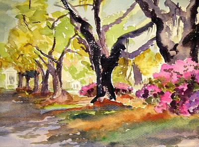 Plantation Mixed Media - Carolina Spring  by Nancy Brennand