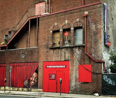 Photograph - Carolina Theatre by Greg Mimbs