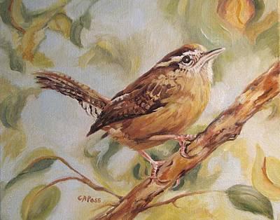 Painting - Carolina Wren II by Cheryl Pass