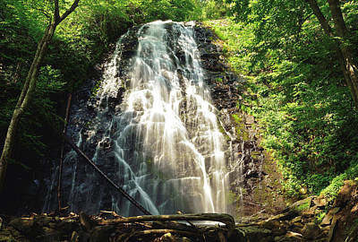 Photograph - Carolina's Crabtree Falls by Jamie Pattison