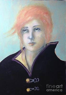 Mixed Media - Caroline - In Memory by Pamela Vosseller