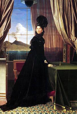 Chair Painting - Carolline Murat, Queen Of Naples by Jean-Auguste-Dominique Ingres