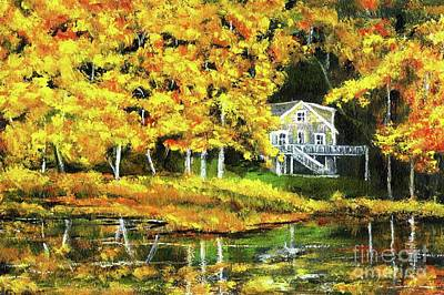 Painting - Carol's House by Randy Sprout