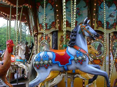 Photograph - Carousel 1 by Anne Cameron Cutri