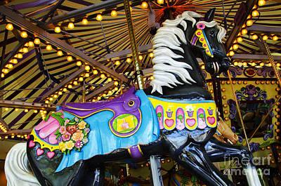 Photograph - Carousel Beauty Salem Oregon 1 by Bob Christopher