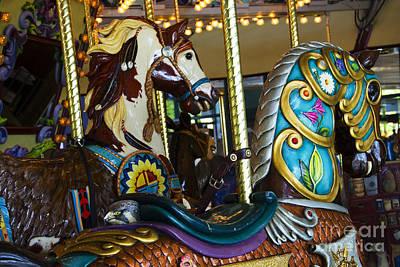 Photograph - Carousel Beauty Salem Oregon 4 by Bob Christopher