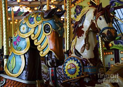Photograph - Carousel Beauty Salem Oregon 5 by Bob Christopher