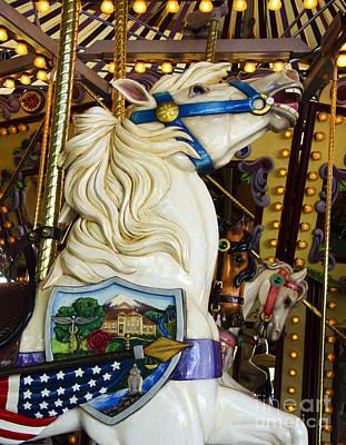 Photograph - Carousel Beauty Salem Oregon 6 by Bob Christopher