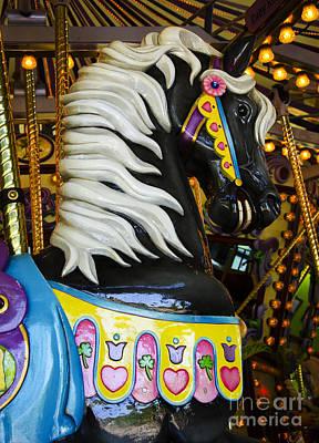 Photograph - Carousel Beauty Salem Oregon 7 by Bob Christopher