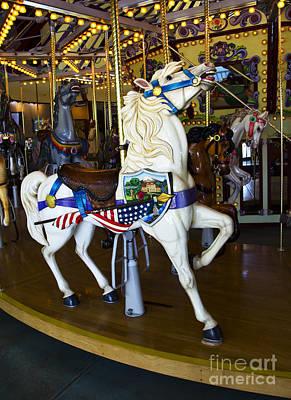 Photograph - Carousel Beauty Salem Oregon 8 by Bob Christopher