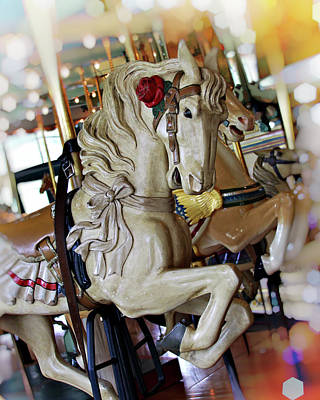 Photograph - Carousel Belle by Melanie Alexandra Price
