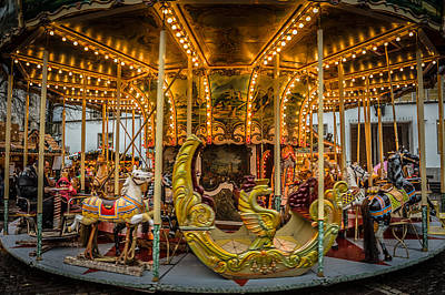Photograph - Carousel by Bill Howard