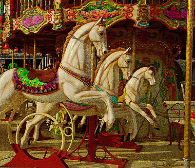 Photograph - Carousel  by Bill Jonscher