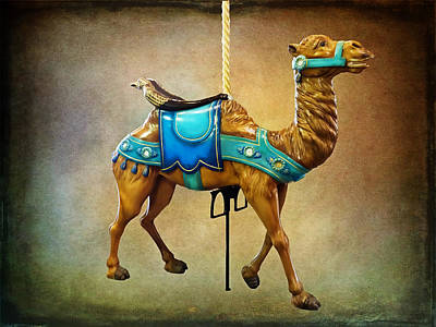 Photograph - Carousel Camel by Leslie Montgomery