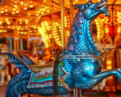 Madonna - Carousel by Catherine Melvin