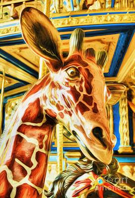 Photograph - Carousel Colors # 9 by Mel Steinhauer
