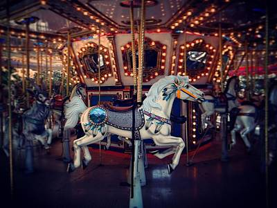 Photograph - Carousel by David MCKINNEY