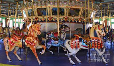 Glen Echo Park Photograph - Carousel by David Nicholson