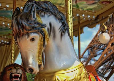 Photograph - Carousel De Paris by JAMART Photography