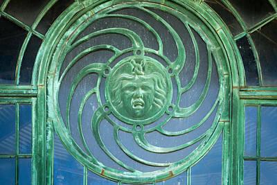 Asbury Park Carousel Window Photograph - Carousel Details by Erin Cadigan