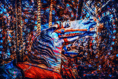 Photograph - Carousel Dream by Michael Arend