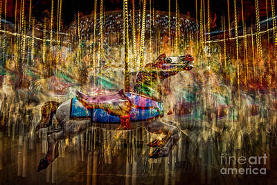 Photograph - Carousel Dreams by Michael Arend