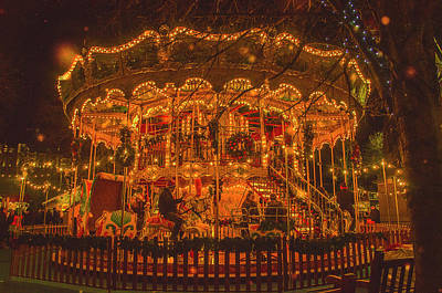 Photograph - Carousel by Edyta K Photography