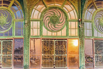 Asbury Park Carousel Window Photograph - Carousel Entrance by Tom Rostron