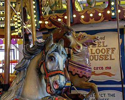 Photograph - Carousel Friends by Kristia Adams