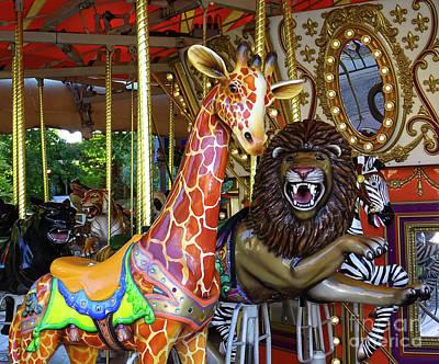 Photograph - Carousel Fun by Deniece Platt