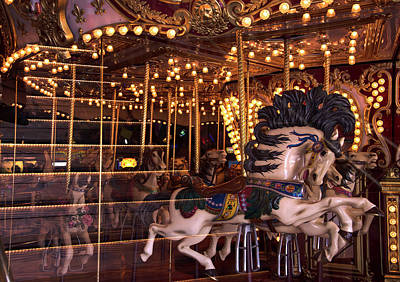 Photograph - Carousel by Gregory Moon