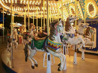 Photograph - Carousel Horse 4 by Anita Burgermeister