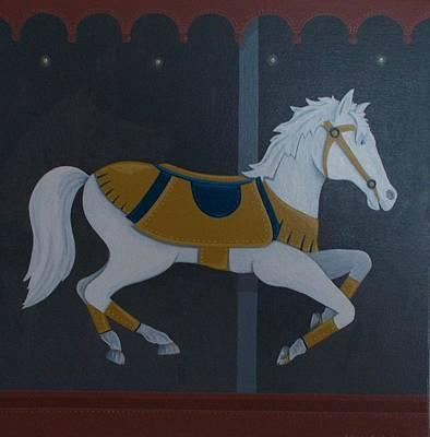 Carousel Horse Original by Allison Kuehn
