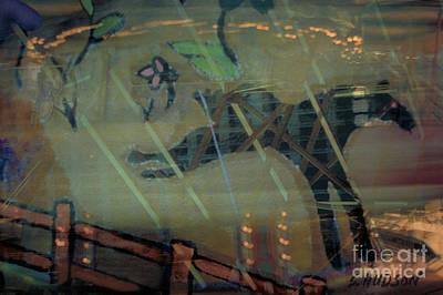 Digital Art - carousel horse fantasy art - Stop the World I Wanna Get Off by Sharon Hudson