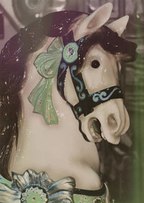Carousel Horse Art Print by JAMART Photography