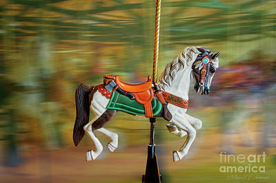 Photograph - Carousel Horse With Axe by David Arment