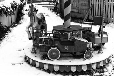 Photograph - Carousel In Berchtesgaden by John Rizzuto