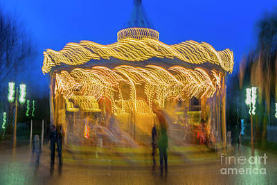 Photograph - Carousel In Motion by Mats Silvan