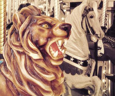 Carousel King Art Print by JAMART Photography