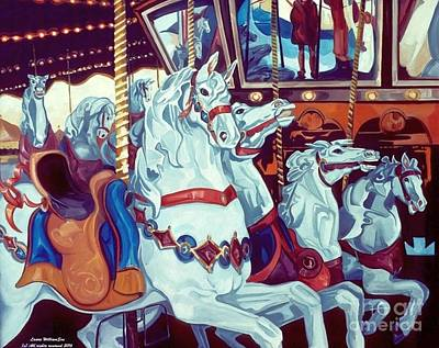 Painting - Carousel by Laara WilliamSen