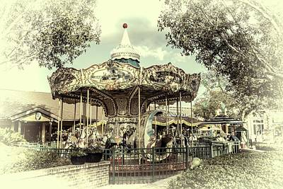 Photograph - Carousel  by Louis Ferreira