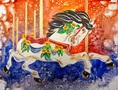 Carousel Original by Marsha Elliott